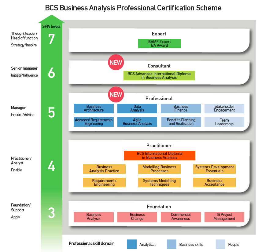 BCS Business Analysis Professional Certification Scheme