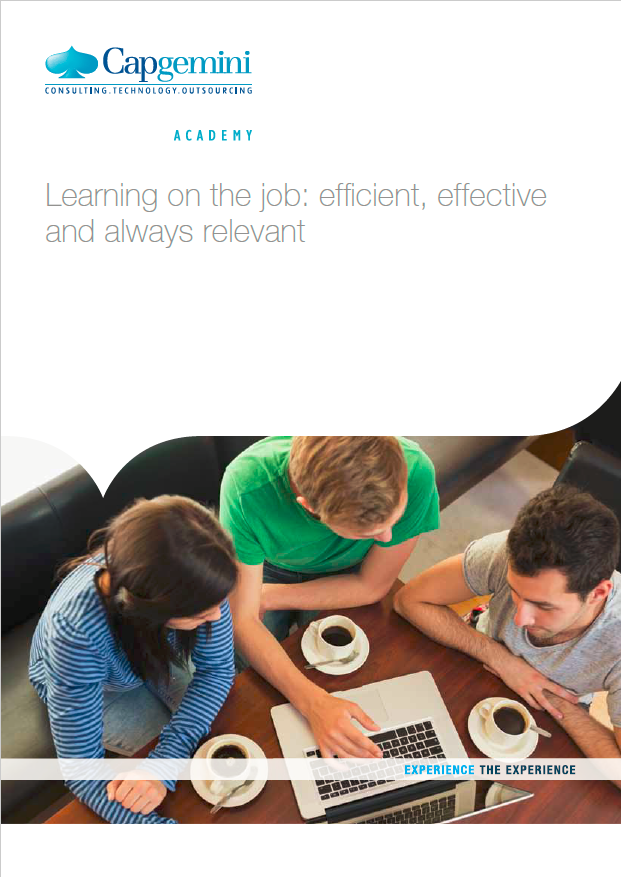 What Is Workplace Learning Capgemini Academy